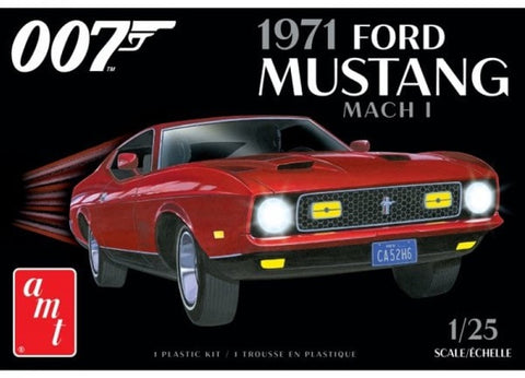 AMT 1:25 1971 Ford Mustang MACH 1 007