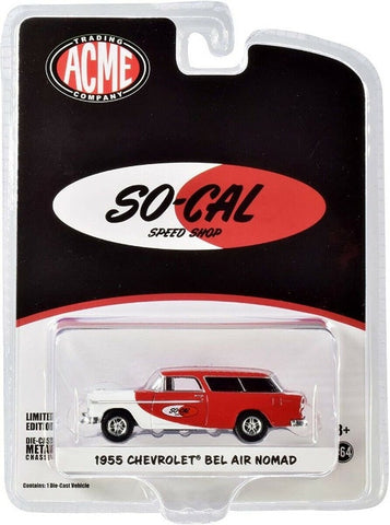 Acme 1:64 So-Cal 1955 Chevrolet Bel Air Nomad