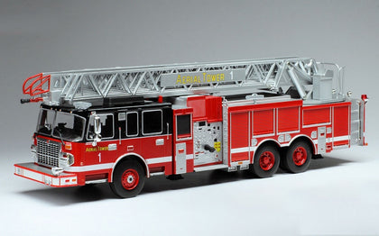 Ixo 1:43 Smeal 105 Series Aerial Ladder Red/Black