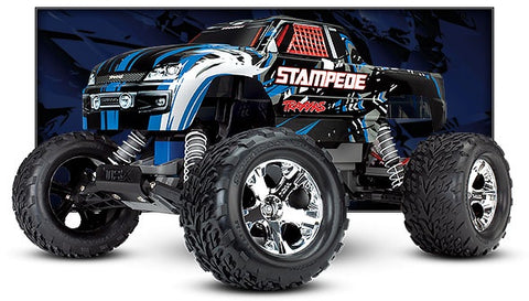 Traxxas 36054-1 Stampede Monster Truck Blue