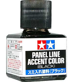 Tamiya Panel Line Accent Color Black 40m