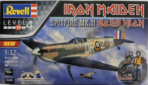 Revell 1:32 Spitfire MKII Iron Maiden Aces High