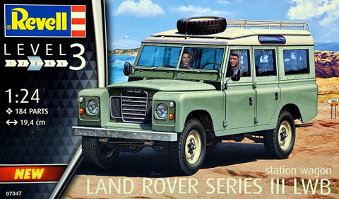 Revell 1:24 Land Rover Series 3 LWB S/W
