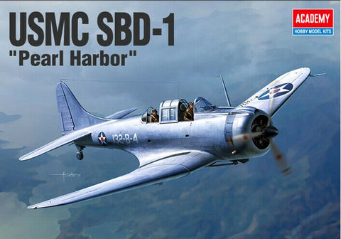 Academy 1:48 USMC SBD-1 Pearl Harbour