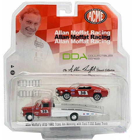 Acme 1:64 Ford F350 Ramp Truck Allan Moffat Racing #38 Trans Am Racing