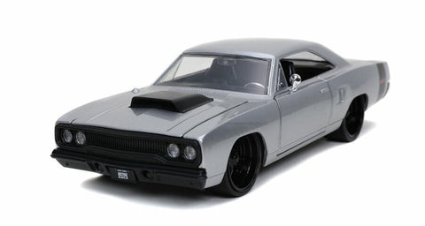 Jada BTM 1:24 1970 Plymouth Road Runner Silver