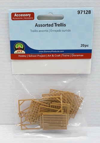 JTT Assorted Trellis HO/OO