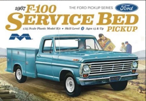 Moebius 1:25 Ford F-100 Service Bed Pickup