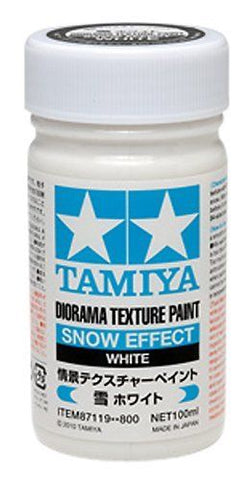 Tamiya Texture Paint Snow - White