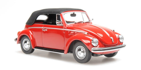 MC 1:43 1970 VW 1302 Cabrio Red