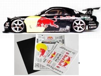 MATRIXLINE REDBULL RX7 DECAL