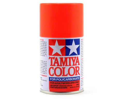 Tamiya PS-20 Fluroescent Red Spray Paint