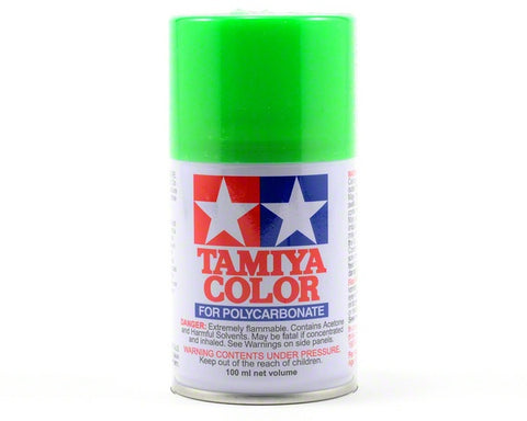 Tamiya PS-28 Fluroescent Green Spray Pai
