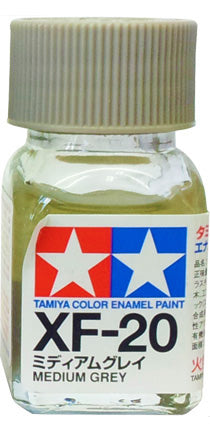 Tamiya XF-20 Enamel 10ml Flat Medium Gre