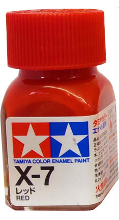 Tamiya X-7 Enamel 10ml Red