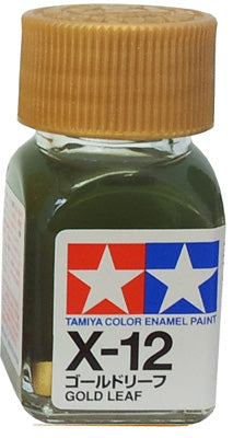 Tamiya X-12 Enamel 10ml Gold Leaf