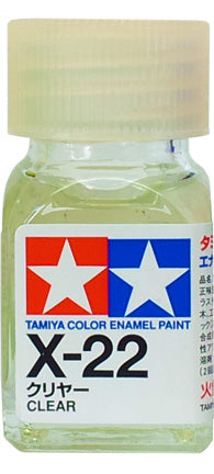 Tamiya X-22 Enamel 10ml Clear