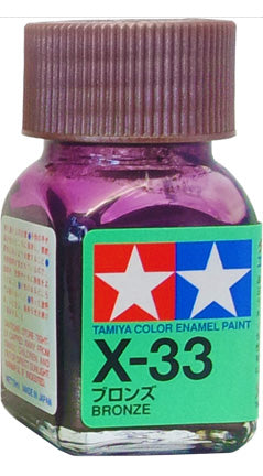 Tamiya X-33 Enamel 10ml Bronze
