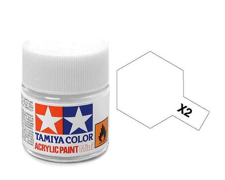 Tamiya X2 Acrylic 10ml White