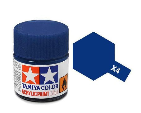 Tamiya X4 Acrylic 10ml Blue