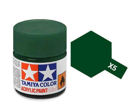 Tamiya X5 Acrylic 10ml Green