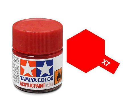 Tamiya X7 Acrylic 10ml Red