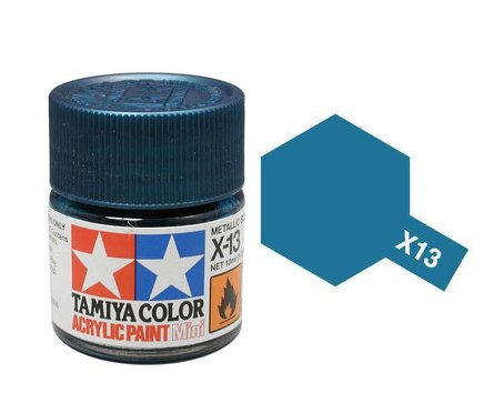 Tamiya X13 Acrylic 10ml Metallic Blue