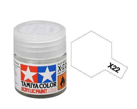 Tamiya X22 Acrylic 10ml Clear