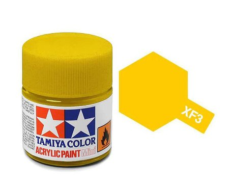 Tamiya XF3 Acrylic 10ml Flat Yellow