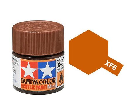 Tamiya XF6 Acrylic 10ml Copper