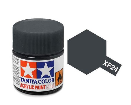 Tamiya XF24 Acrylic 10ml Dark Grey