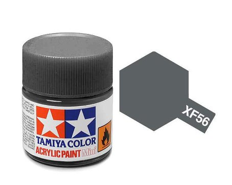 Tamiya XF56 Acrylic 10ml Metallic Grey