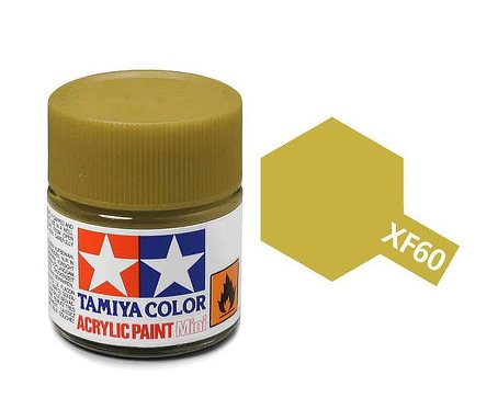 Tamiya XF60 Acrylic 10ml Dark Yellow