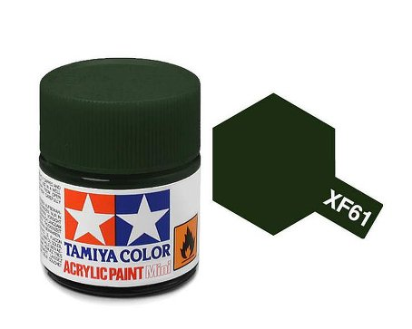 Tamiya XF61 Acrylic 10ml Dark Green