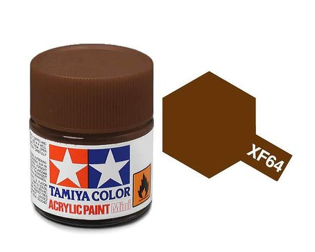 Tamiya XF64 Acrylic 10ml Red Brown
