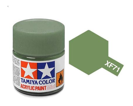 Tamiya XF71 Acrylic 10ml Cockpit Green