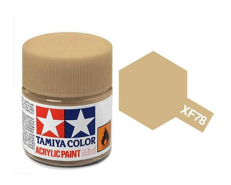 Tamiya XF78 Acrylic 10ml Wooden Deck Tan