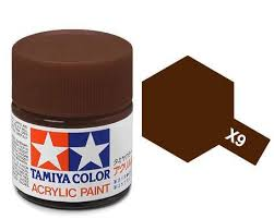 Tamiya X9 Acrylic 10ml Brown