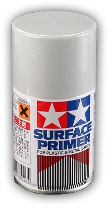 Tamiya Spray Surface Primer/Plastic Meta