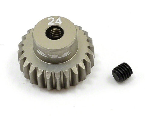 Team Losi Pinion Gear 24T, 48P AL