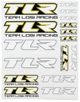 Team Losi Racing TLR Sticker Sheet
