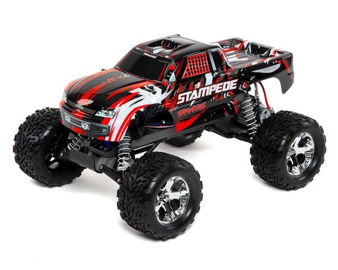 Traxxas 36054-1 Stampede Monster Truck Red