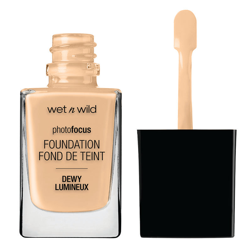 WNW Photo Focus Dewy Foundation - Base para pieles normales a secas