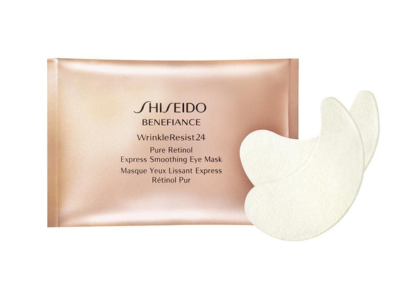 SHISEIDO Benefiance Wrinkle Resist Pure Retinol Express Eye Mask- 12 packs