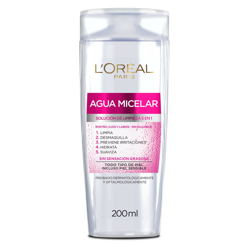 L´Oréal Paris Agua micelar Hidra total 5 - 200 ml