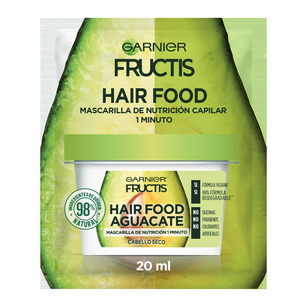 Fructis Hair Food Aguacate Sachet 20 ml