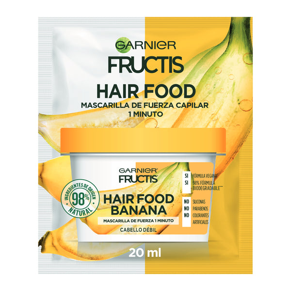 Fructis Hair Food Banana Sachet  20 g