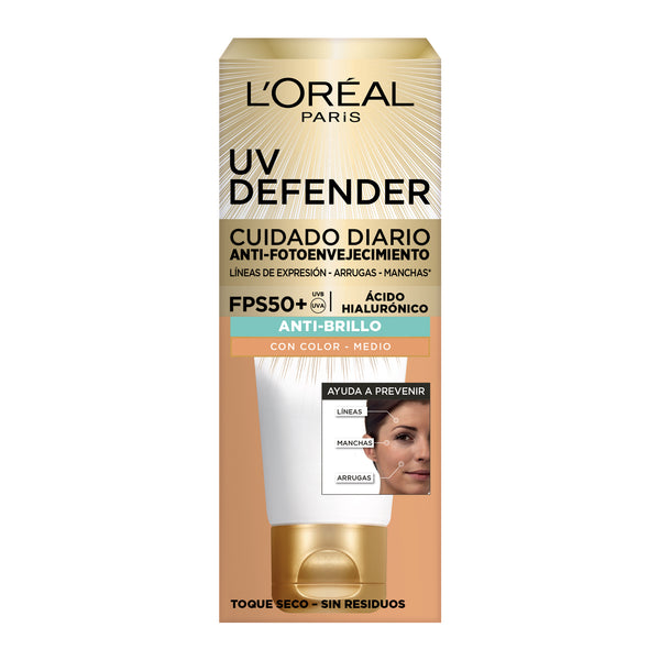 L'Oreal Paris UV Defender Anti Oilness FPS 50+