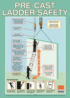 A2 Precast Ladder Safety Poster