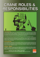 A2 Crane Roles and Responsibilities Poster